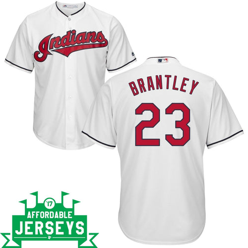 Michael Brantley Home Cool Base Player Jersey