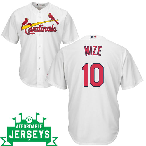 Johnny Mize Home Cool Base Player Jersey