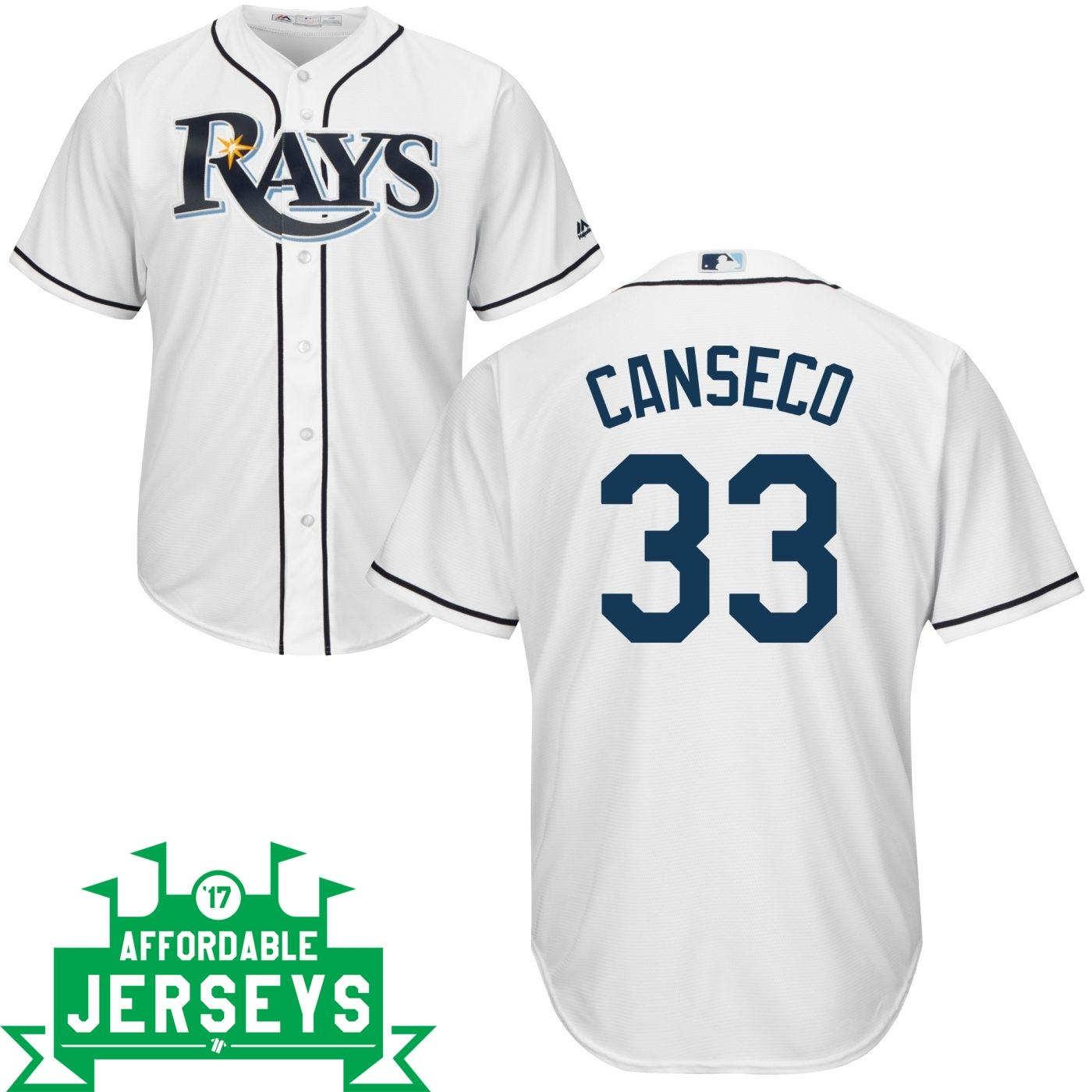 Jose Canseco Home Cool Base Player Jersey