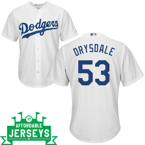 Don Drysdale Youth Home Cool Base Player Jersey - AffordableJerseys.com