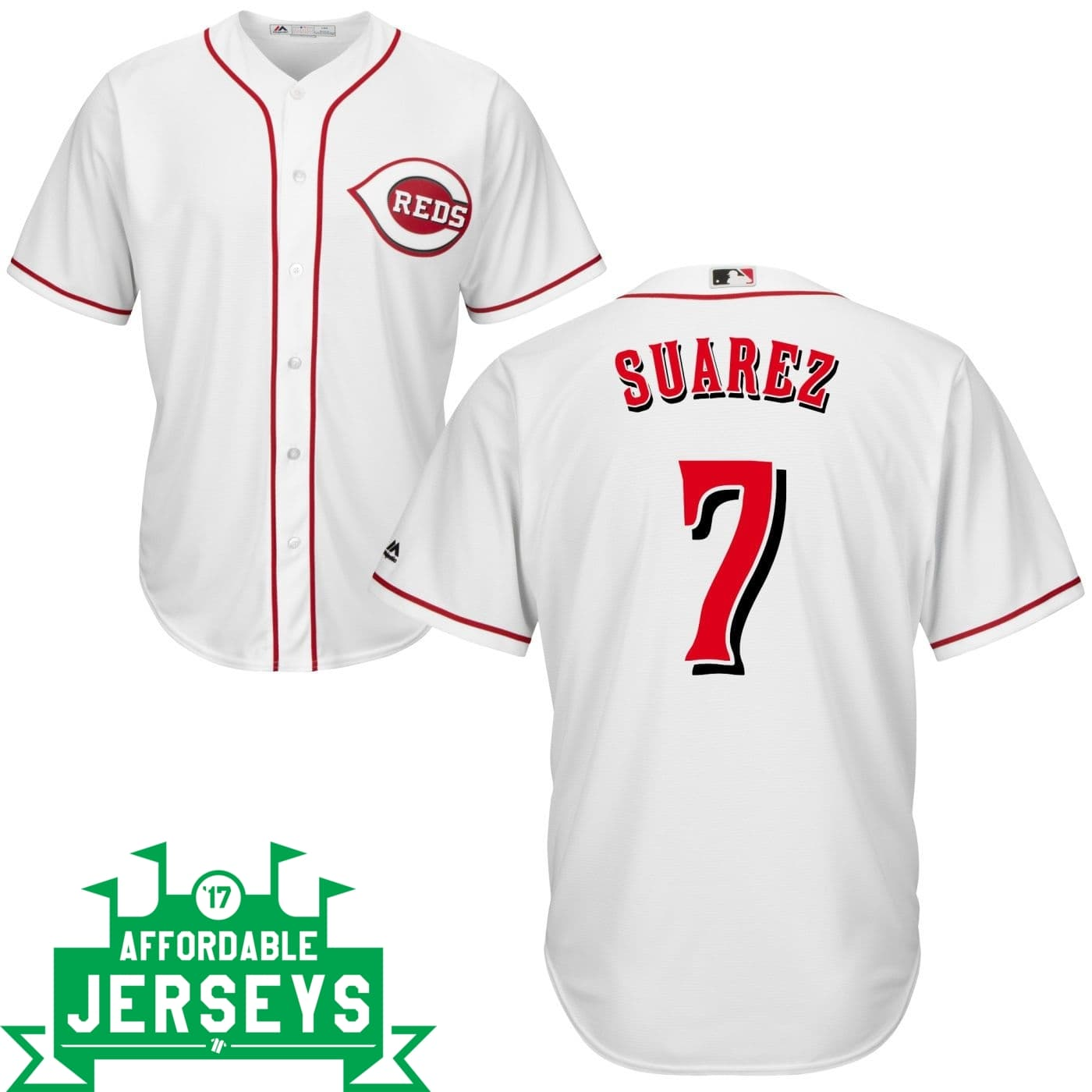 Eugenio Suarez Home Cool Base Player Jersey - AffordableJerseys.com