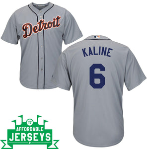 Al Kaline Road Cool Base Player Jersey