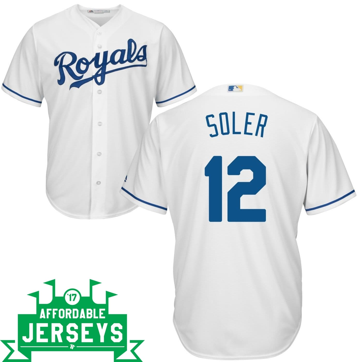 Jorge Soler Home Cool Base Player Jersey - AffordableJerseys.com