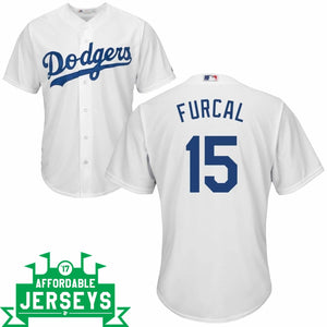 Rafael Furcal Youth Home Cool Base Player Jersey