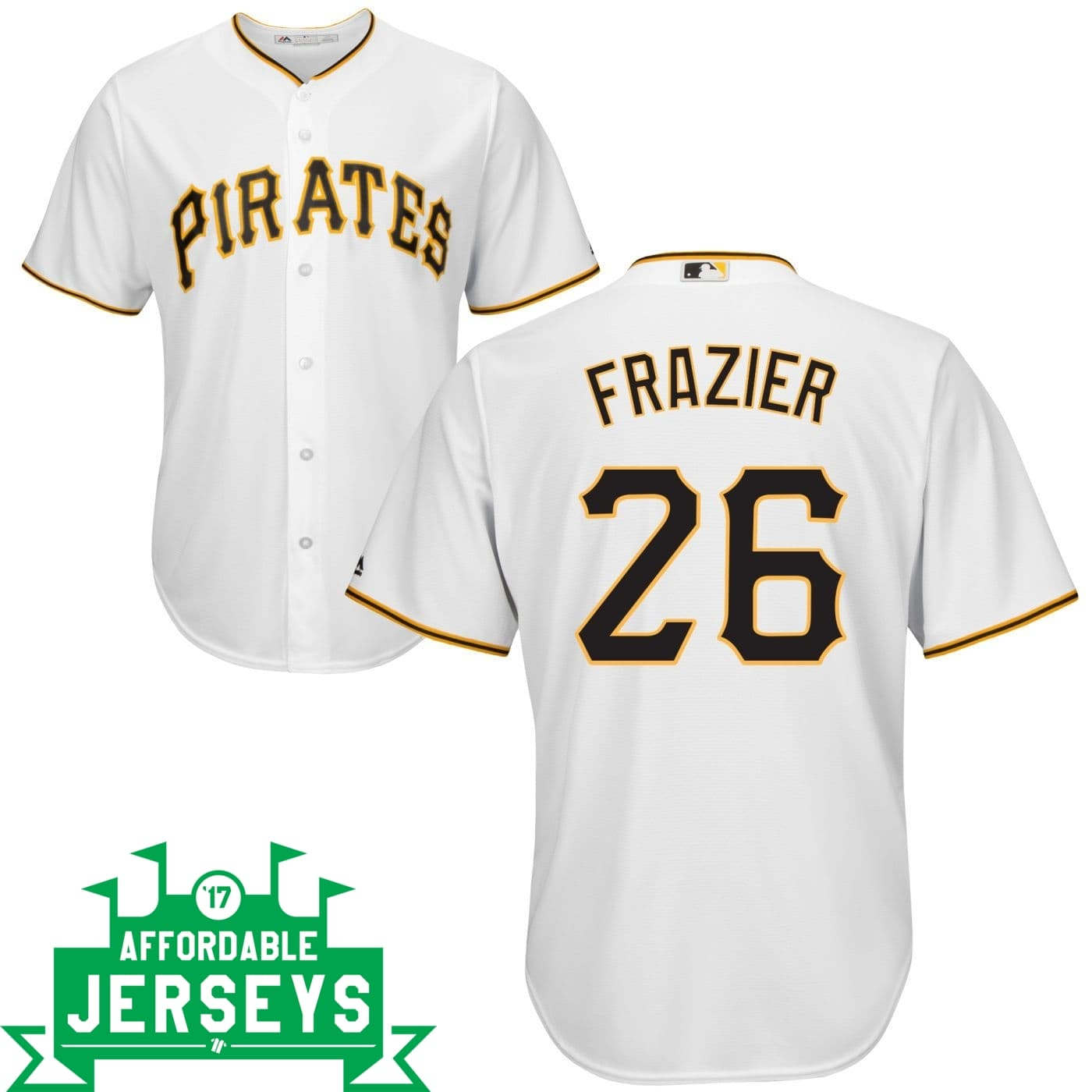 Adam Frazier Home Cool Base Player Jersey - AffordableJerseys.com