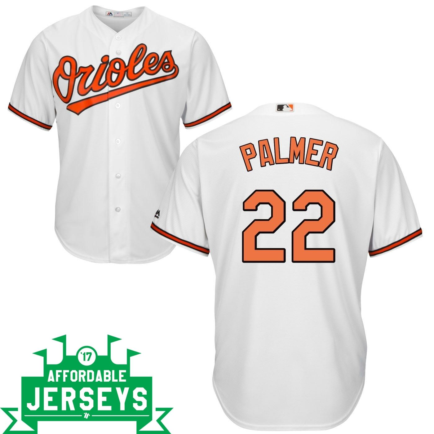 Jim Palmer Home Cool Base Player Jersey