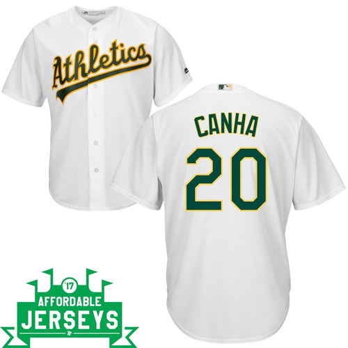 Mark Canha Home Cool Base Player Jersey