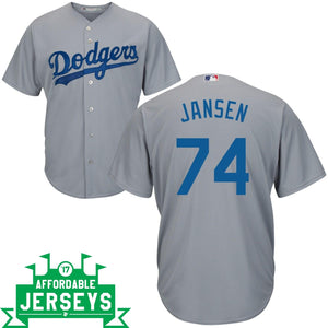 Kenley Jansen Road Cool Base Player Jersey