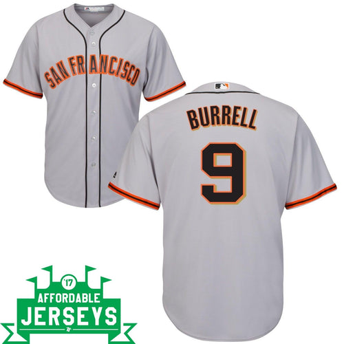 Pat Burrell Road Cool Base Player Jersey
