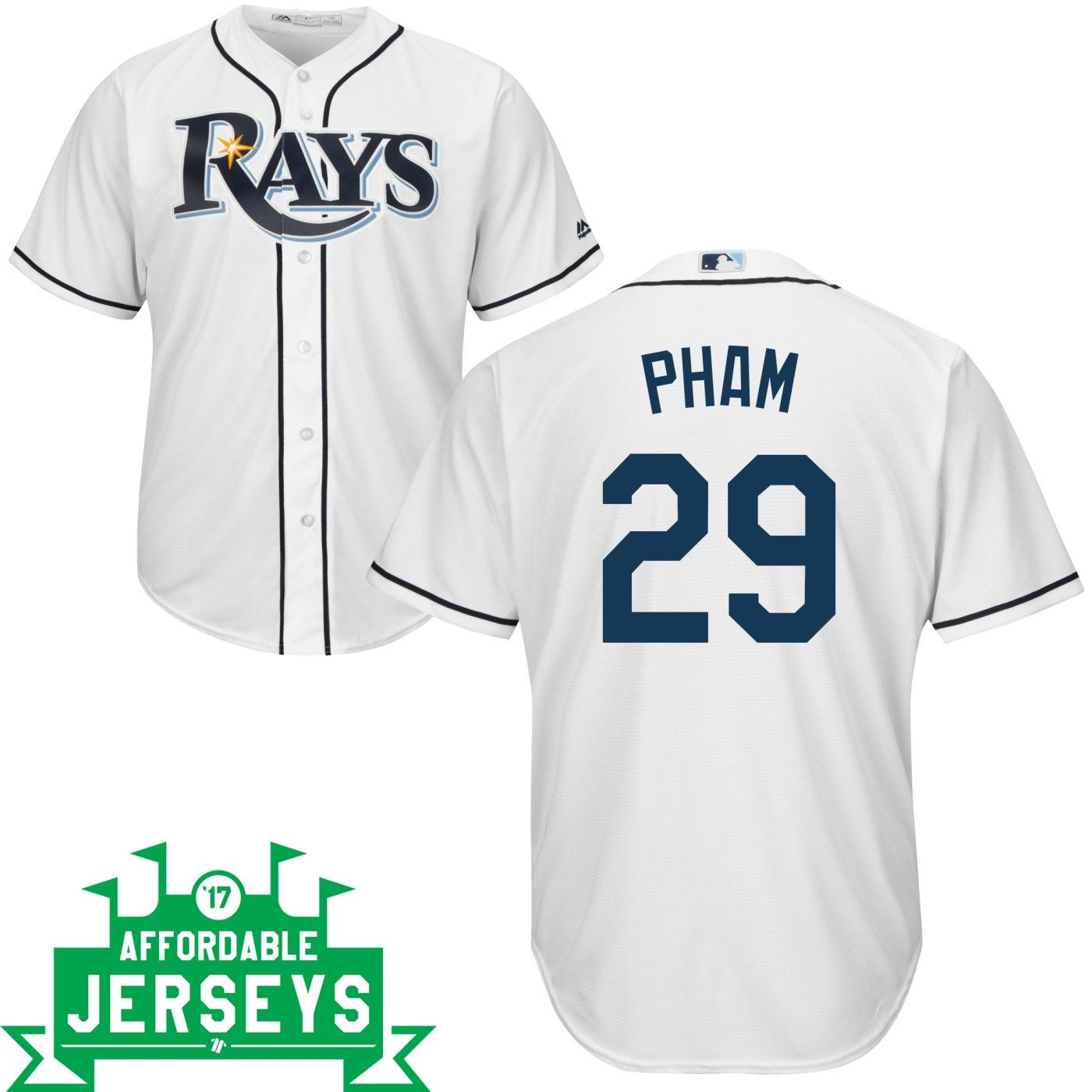 Tommy Pham Home Cool Base Player Jersey - AffordableJerseys.com