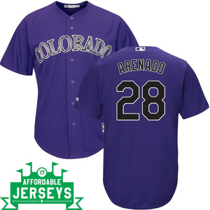 Nolan Arenado Alternate Cool Base Player Jersey - AffordableJerseys.com