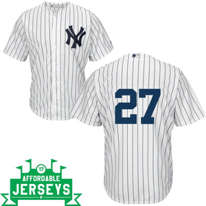 Giancarlo Stanton Home Cool Base Player Jersey - AffordableJerseys.com