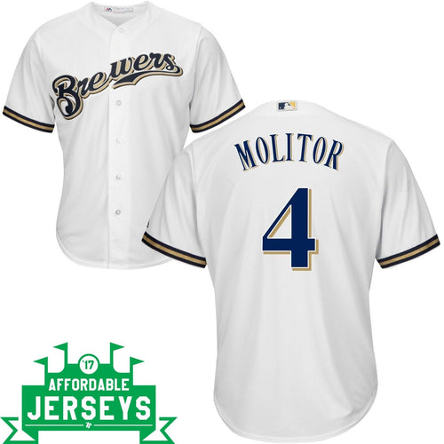 Paul Molitor Home Cool Base Player Jersey