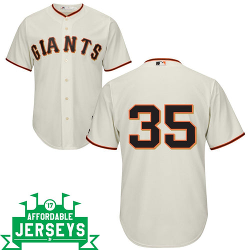 Brandon Crawford Home Cool Base Player Jersey - AffordableJerseys.com