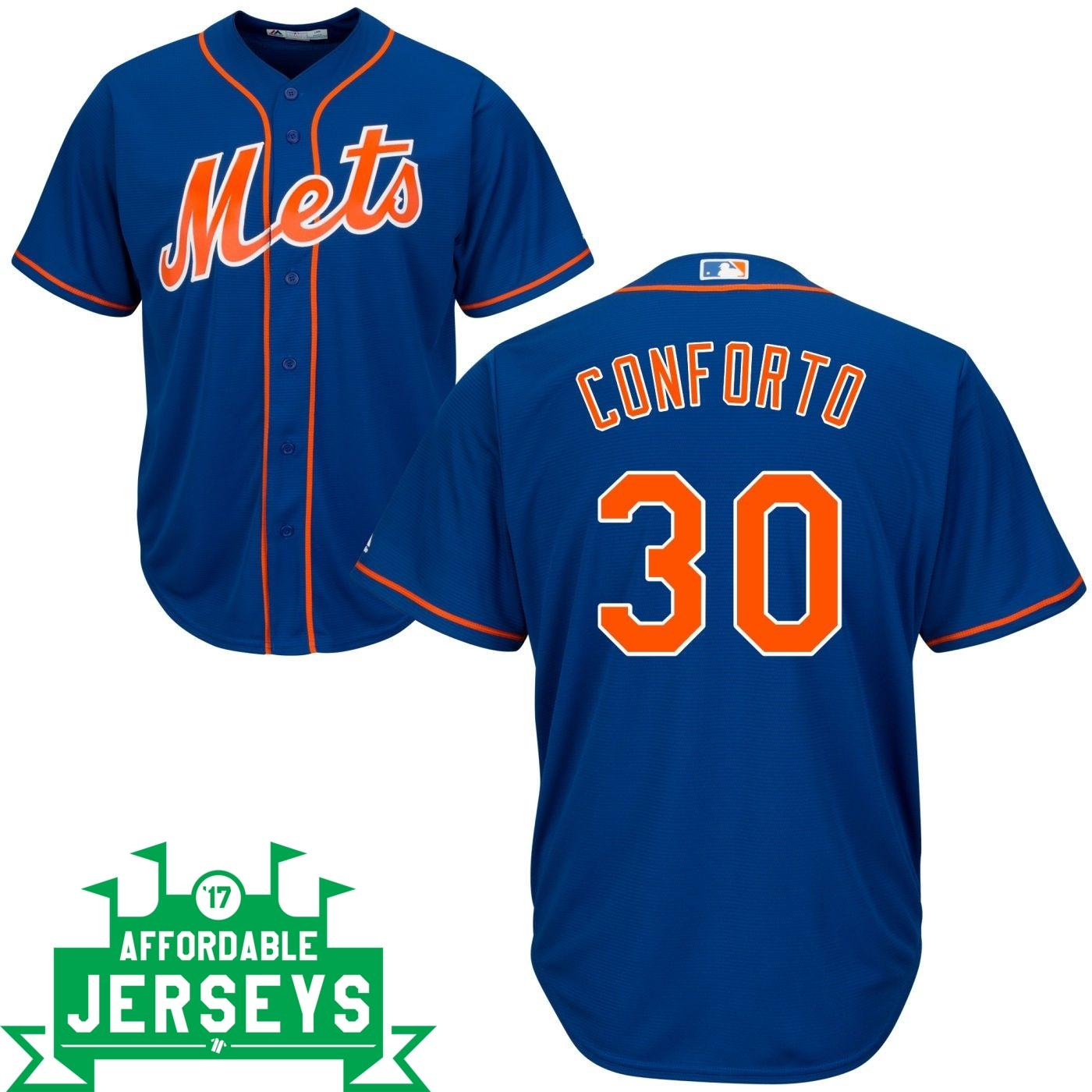 Michael Conforto Alternate Cool Base Player Jersey - AffordableJerseys.com