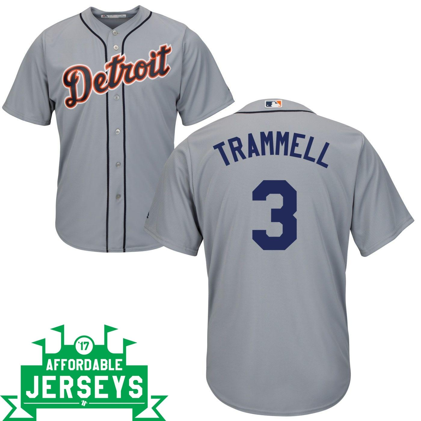 Alan Trammell Road Cool Base Player Jersey - AffordableJerseys.com