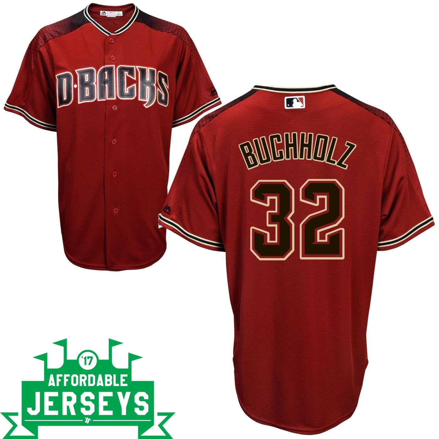 Clay Buchholz Road Cool Base Player Jersey - AffordableJerseys.com