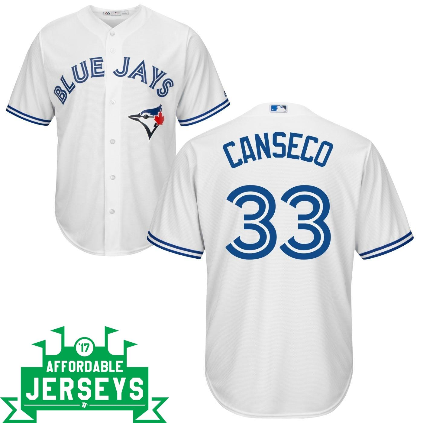 Jose Canseco Home Cool Base Player Jersey - AffordableJerseys.com