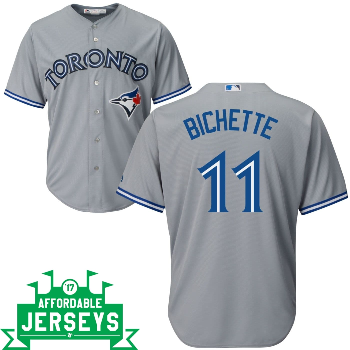 Bo Bichette Road Cool Base Player Jersey - AffordableJerseys.com