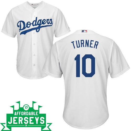 Justin Turner Home Cool Base Player Jersey - AffordableJerseys.com