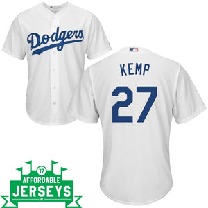Matt Kemp Home Cool Base Player Jersey