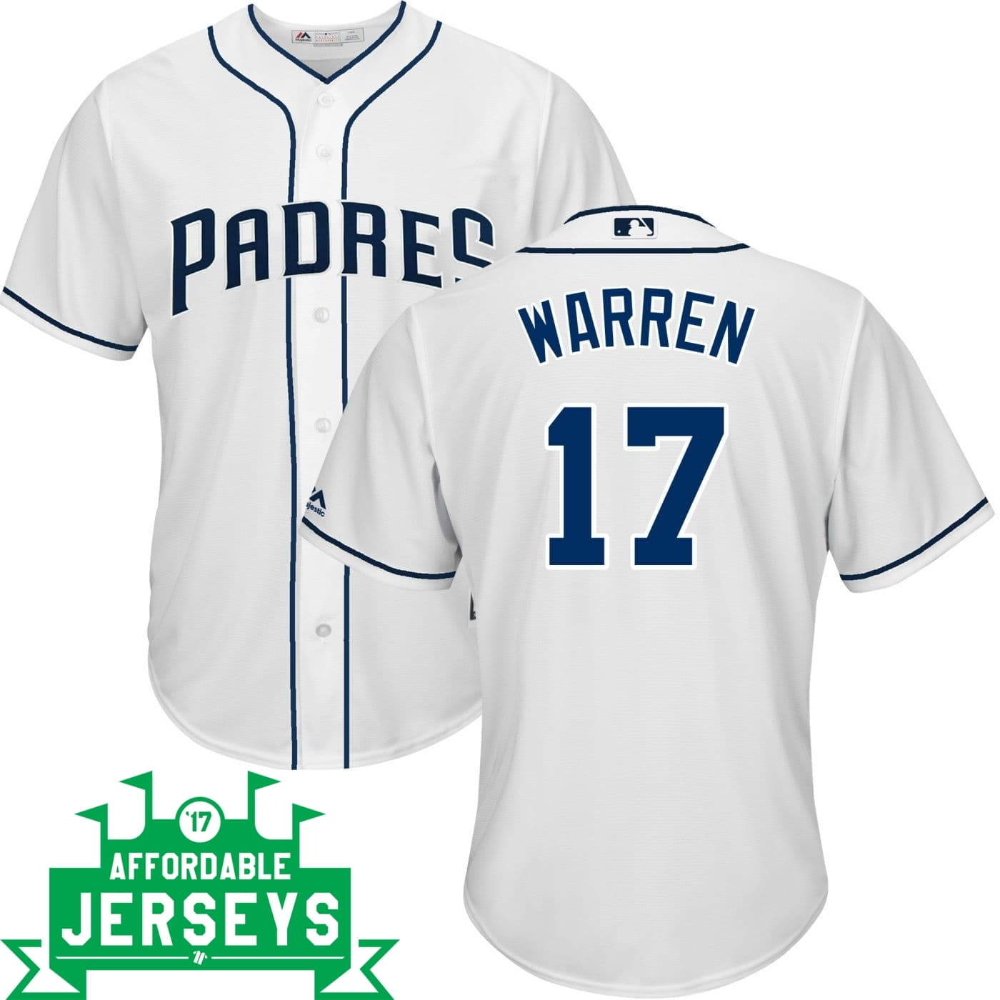 Adam Warren Home Cool Base Player Jersey