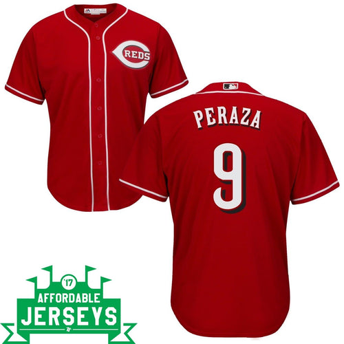 Jose Peraza Road Cool Base Player Jersey - AffordableJerseys.com