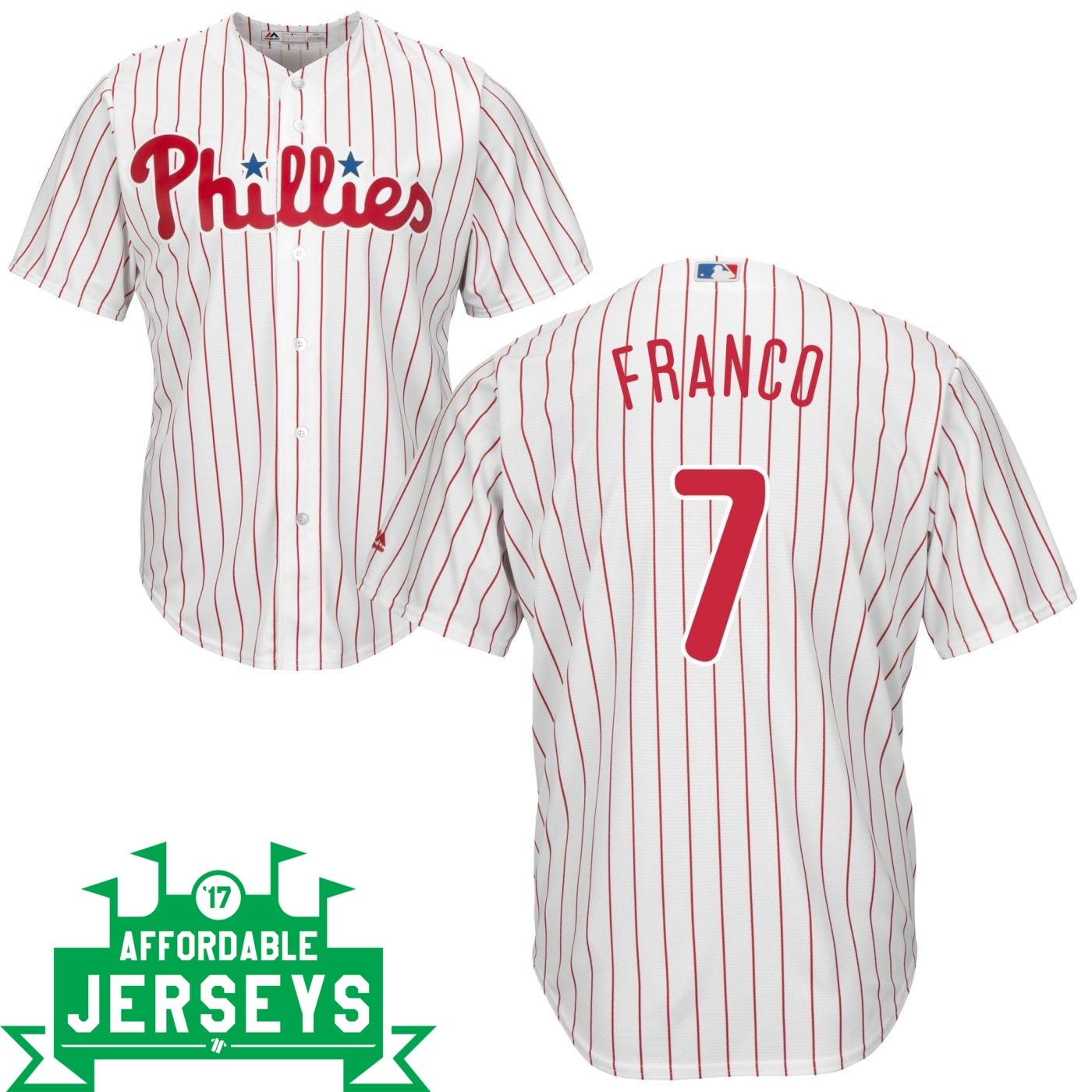Maikel Franco Home Cool Base Player Jersey