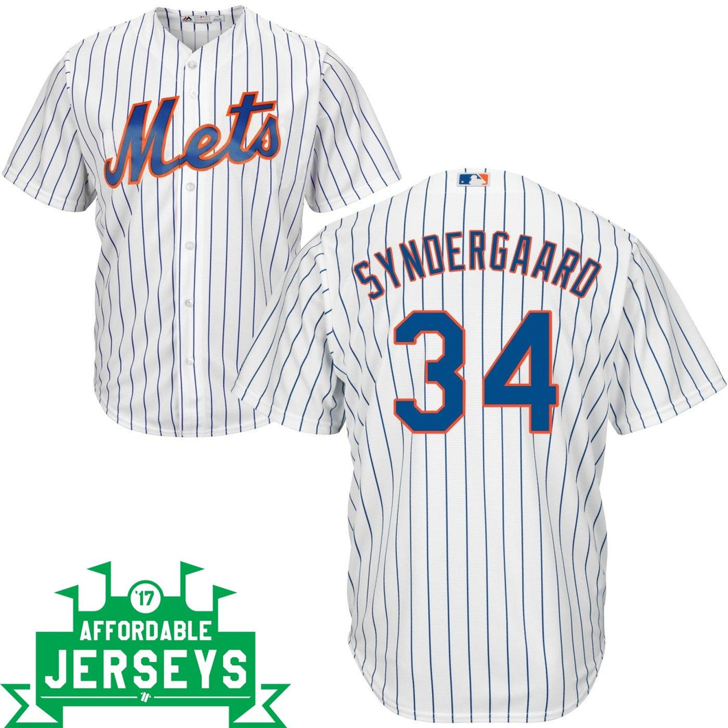 Noah Syndergaard Home Cool Base Player Jersey