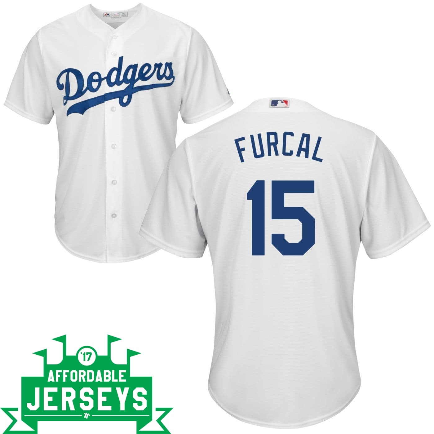 Rafael Furcal Home Cool Base Player Jersey - AffordableJerseys.com