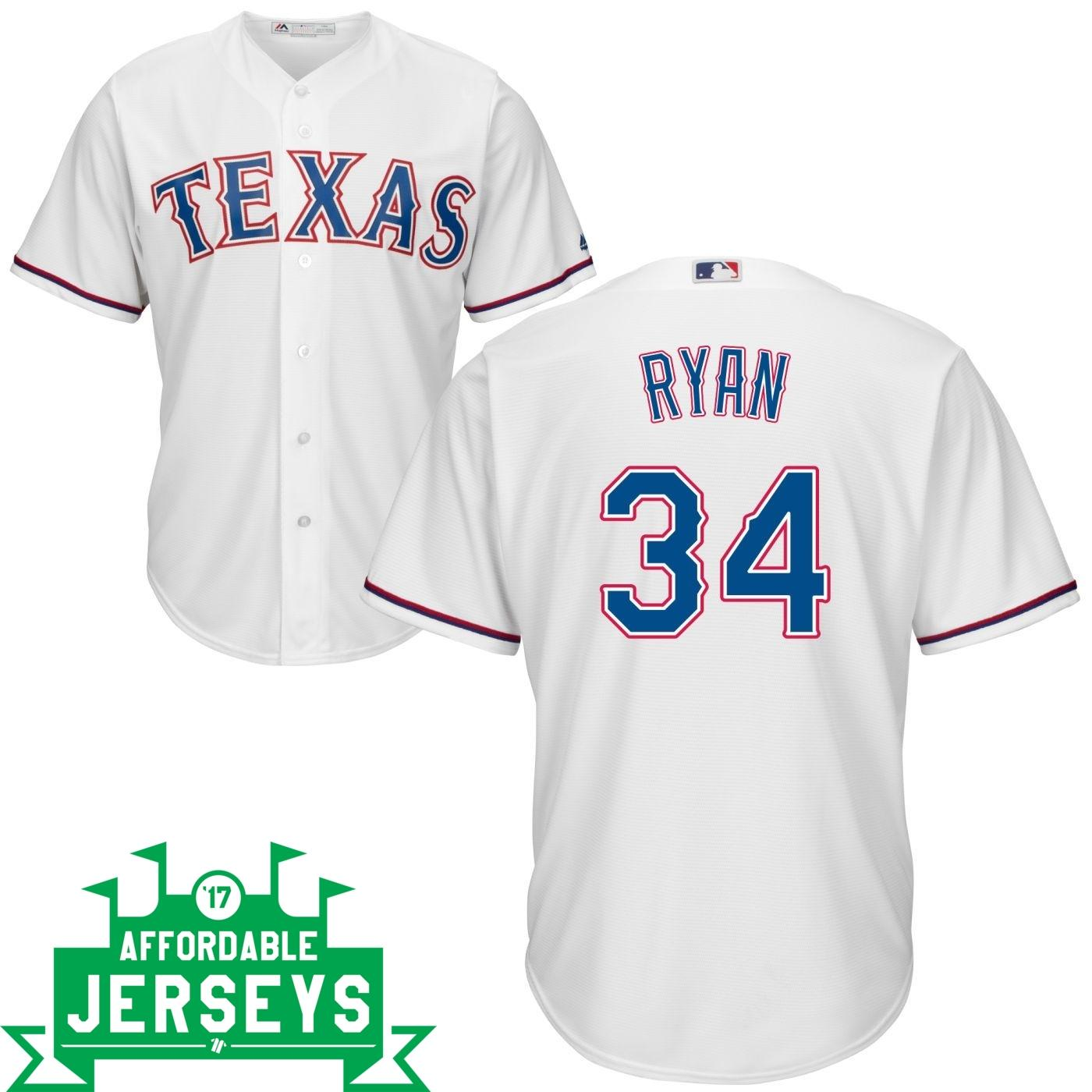 Nolan Ryan Home Cool Base Player Jersey - AffordableJerseys.com