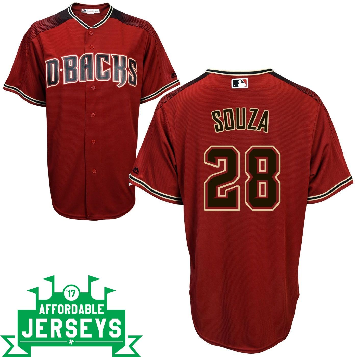 Steven Souza Road Cool Base Player Jersey - AffordableJerseys.com