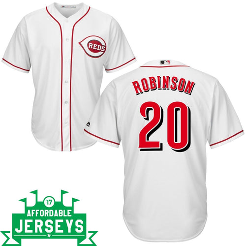 Frank Robinson Home Cool Base Player Jersey - AffordableJerseys.com