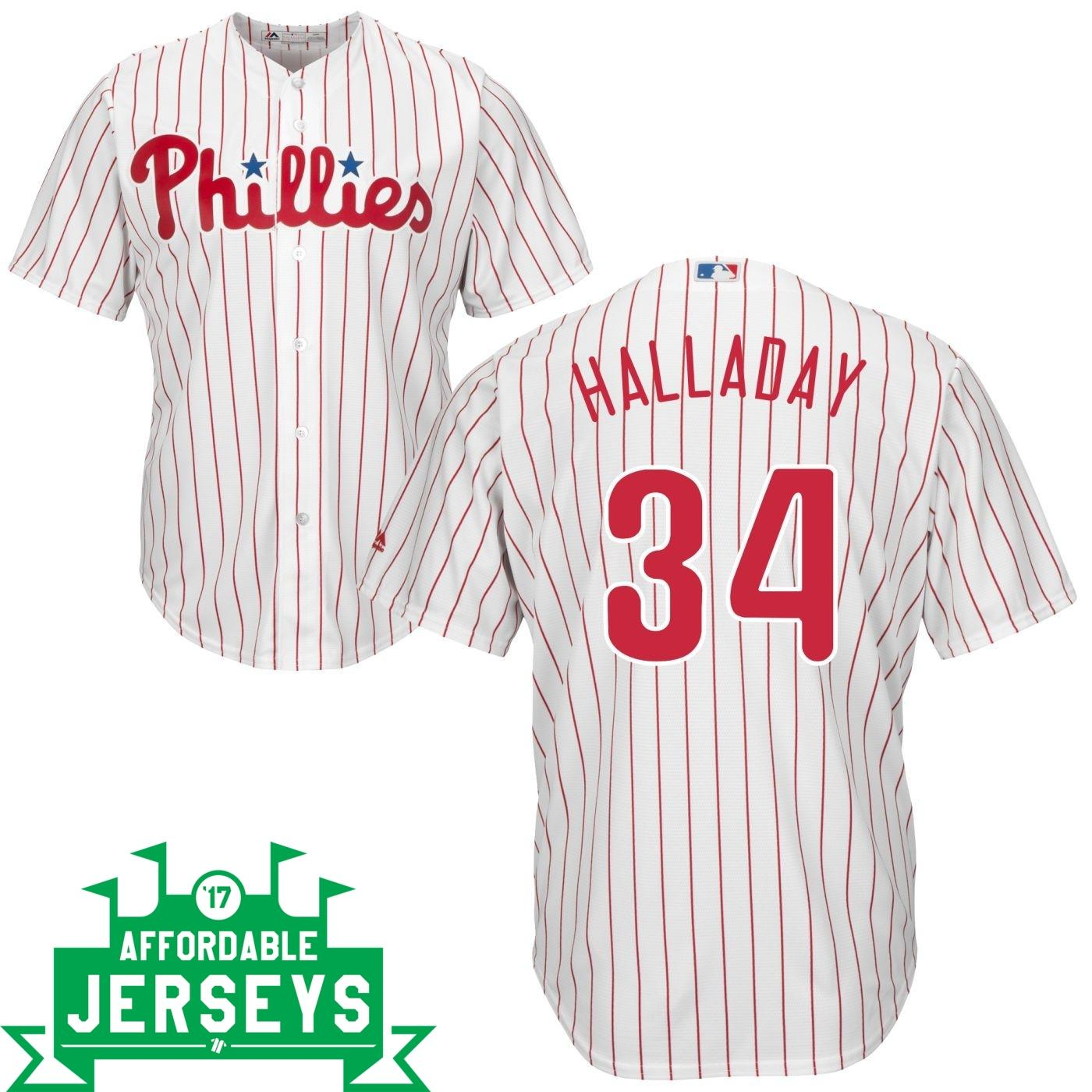 Roy Halladay Home Cool Base Player Jersey - AffordableJerseys.com