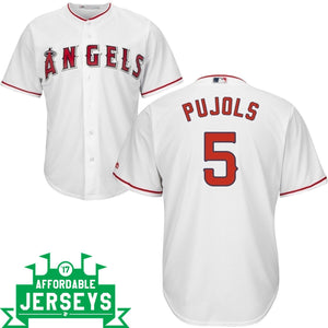Albert Pujols Youth Home Cool Base Player Jersey - AffordableJerseys.com