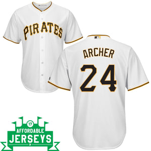 Chris Archer Home Cool Base Player Jersey - AffordableJerseys.com