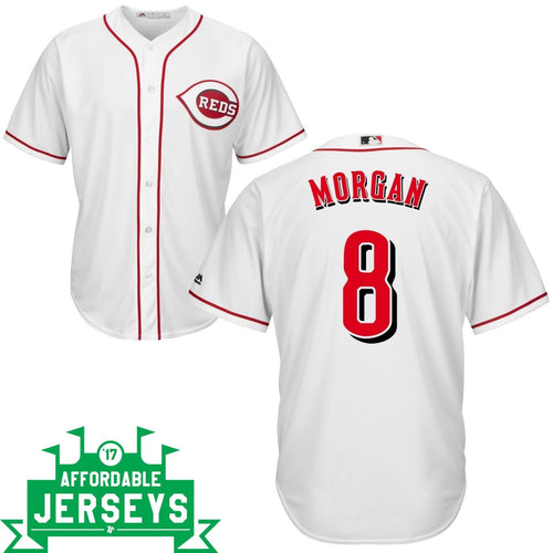 Joe Morgan Home Cool Base Player Jersey - AffordableJerseys.com