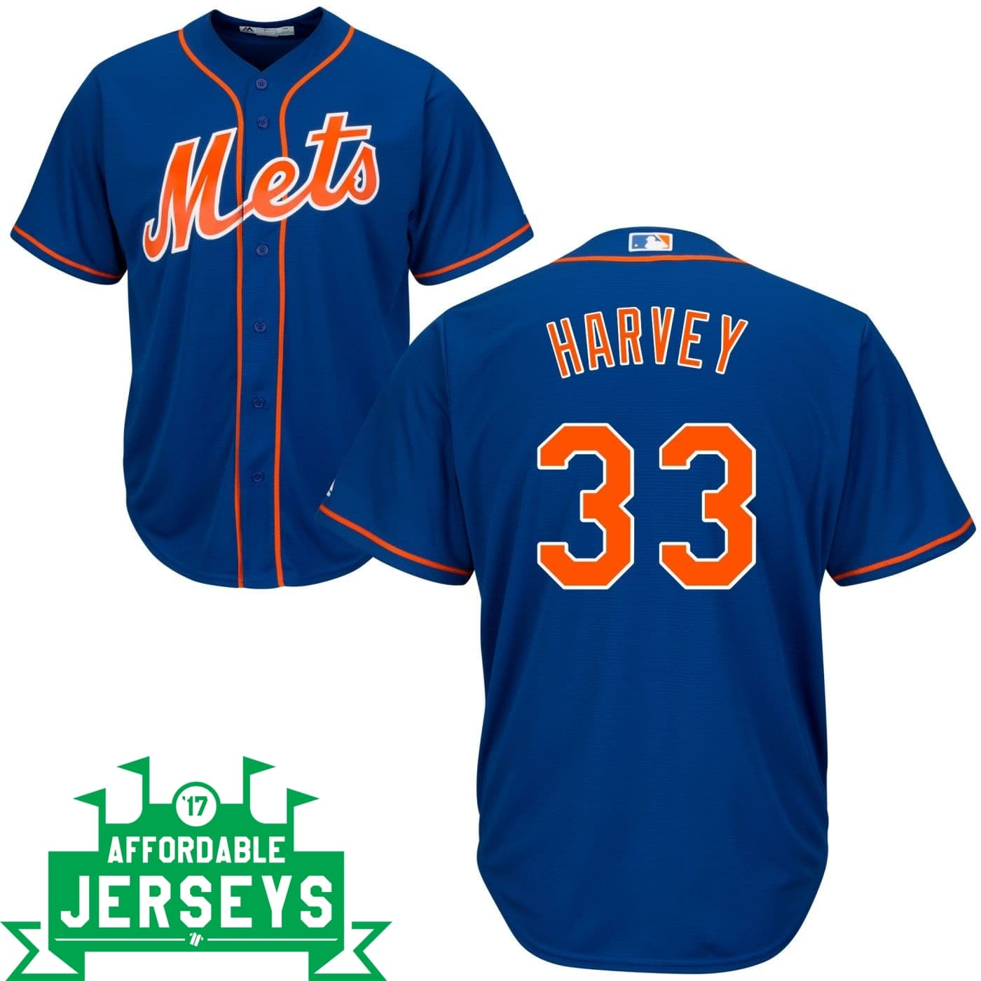 Matt Harvey Alternate Cool Base Player Jersey