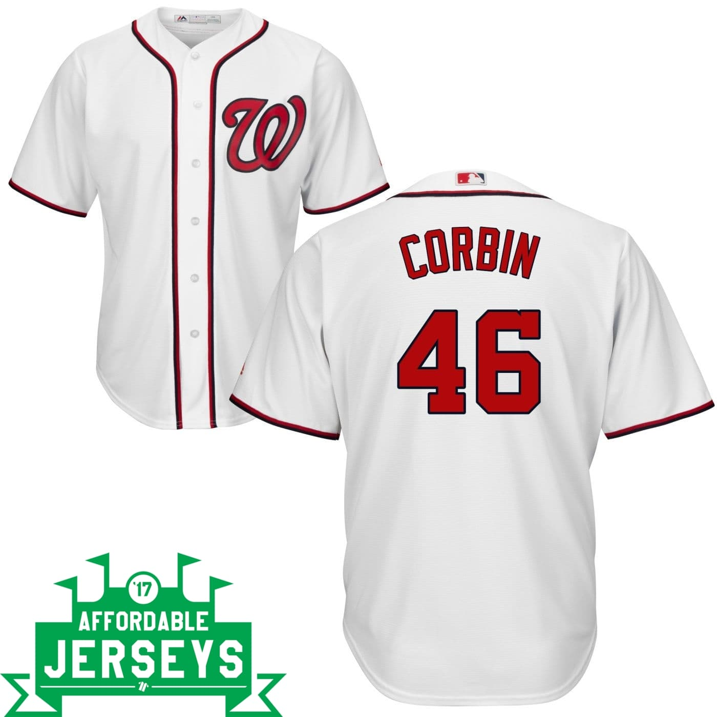 Patrick Corbin Home Cool Base Player Jersey - AffordableJerseys.com