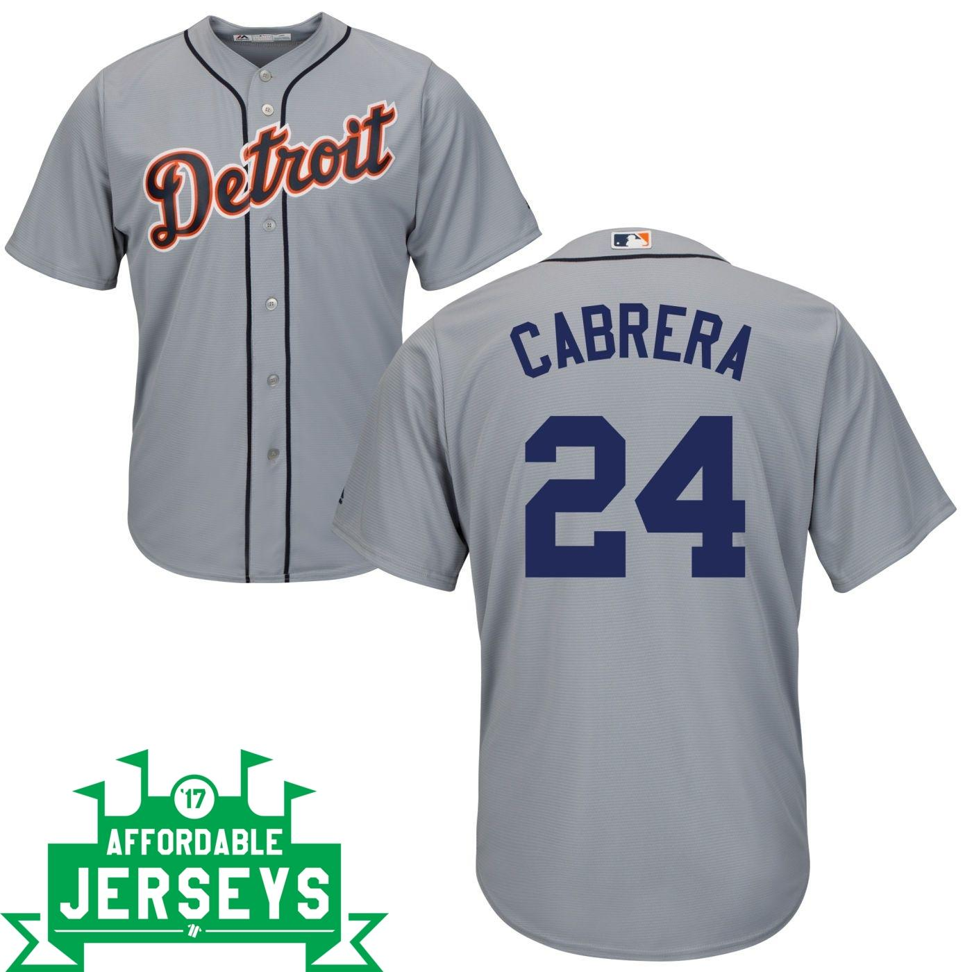 Miguel Cabrera Road Cool Base Player Jersey - AffordableJerseys.com