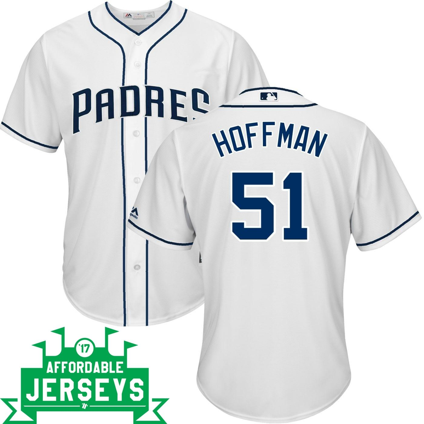 Trevor Hoffman Home Cool Base Player Jersey