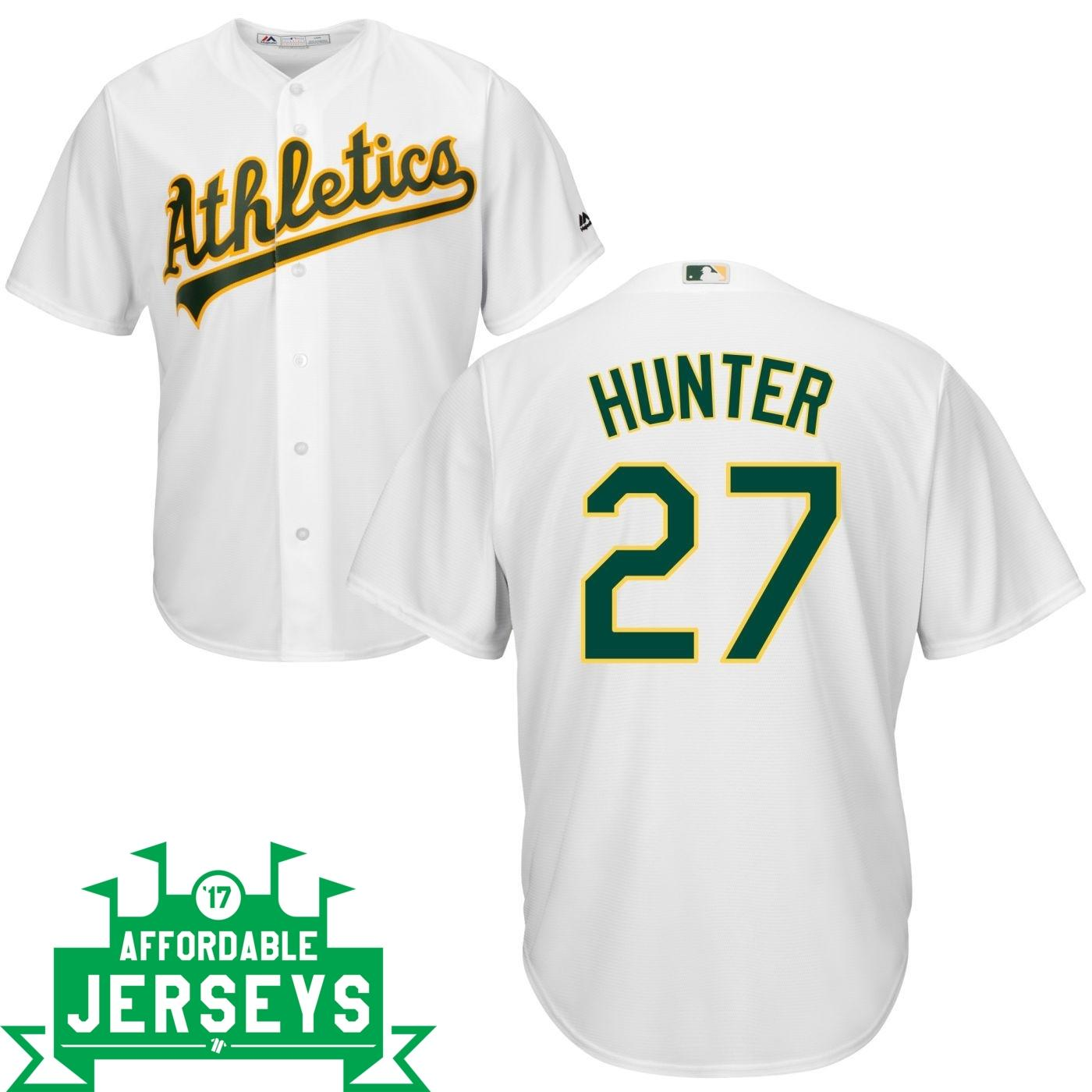Catfish Hunter Home Cool Base Player Jersey - AffordableJerseys.com