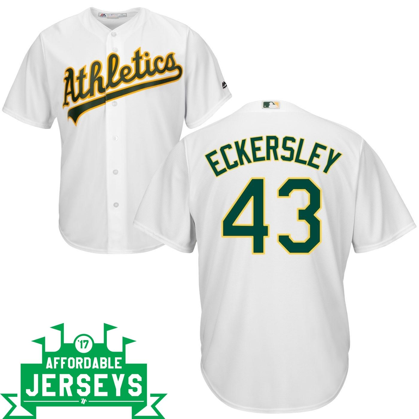 Dennis Eckersley Home Cool Base Player Jersey - AffordableJerseys.com
