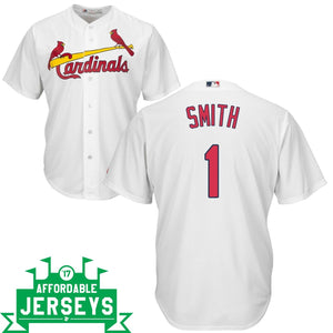 Ozzie Smith Home Cool Base Player Jersey