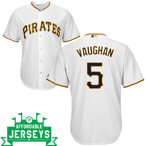 Arky Vaughan Home Cool Base Player Jersey