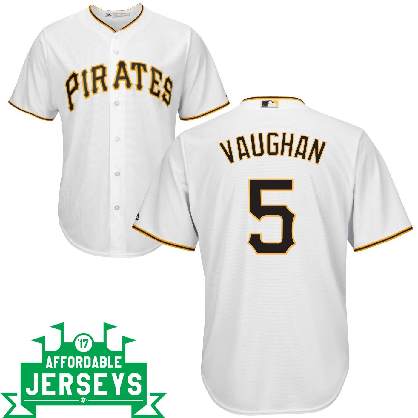 Arky Vaughan Home Cool Base Player Jersey - AffordableJerseys.com