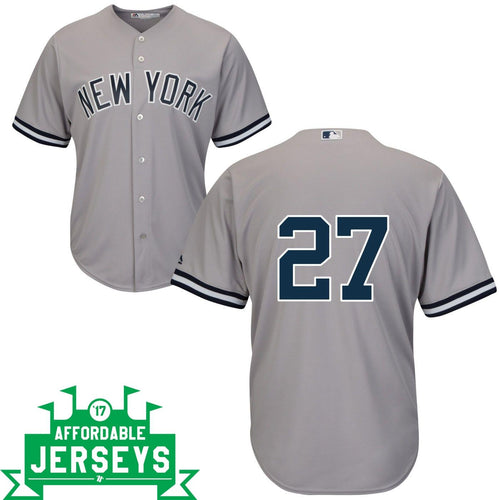 Giancarlo Stanton Road Cool Base Player Jersey - AffordableJerseys.com