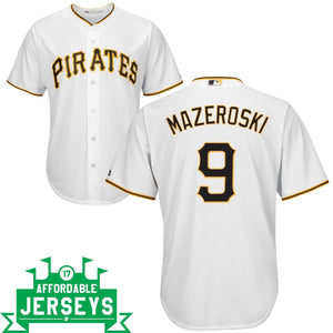 Bill Mazeroski Home Cool Base Player Jersey - AffordableJerseys.com