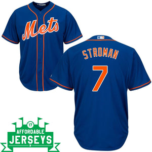 Marcus Stroman Alternate Cool Base Player Jersey - AffordableJerseys.com