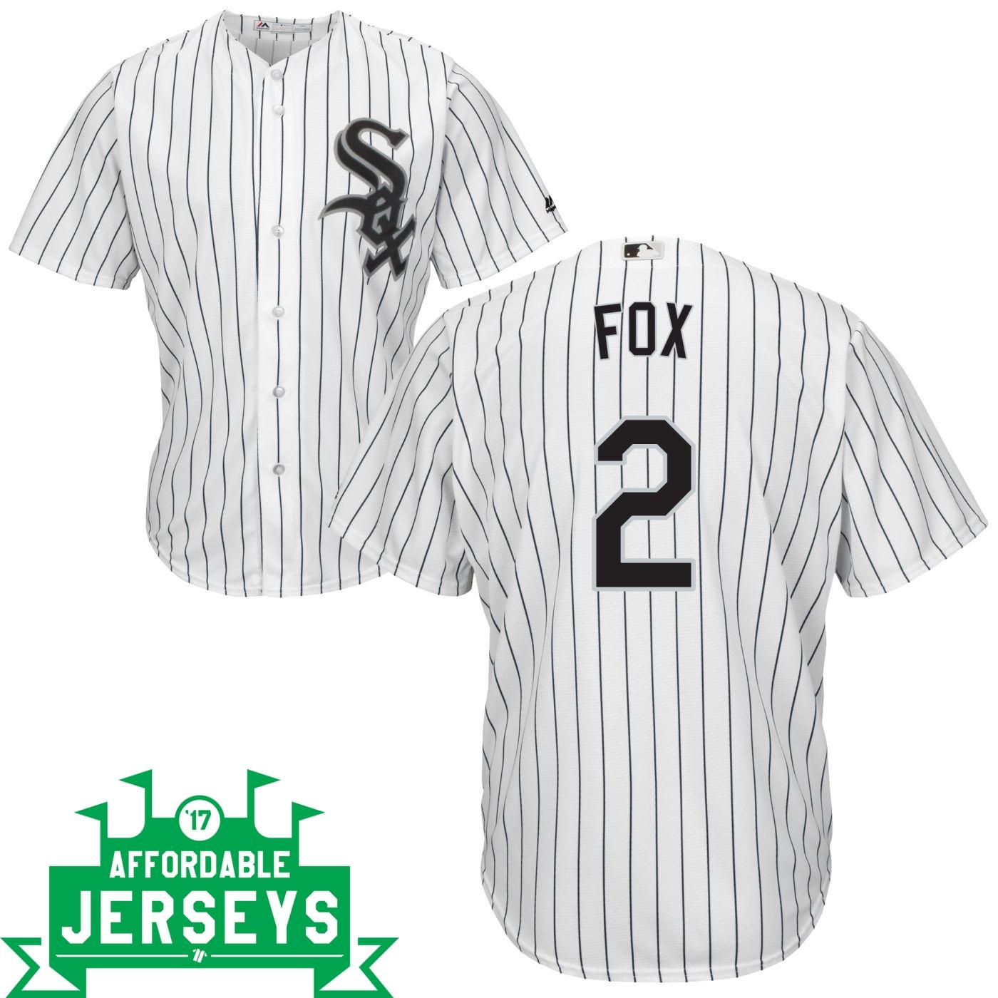 Nellie Fox Home Cool Base Player Jersey - AffordableJerseys.com